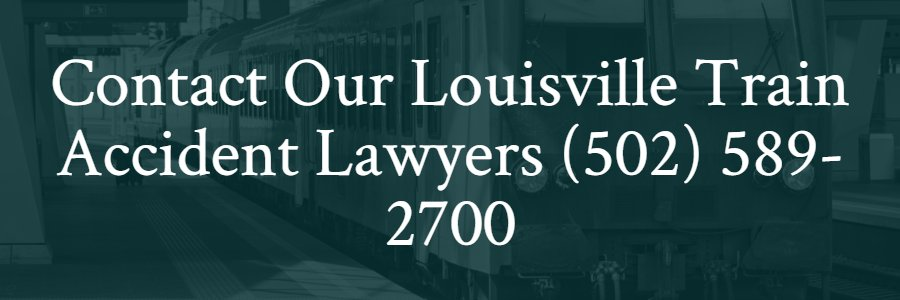Train accident lawyers Louisville Kentucky